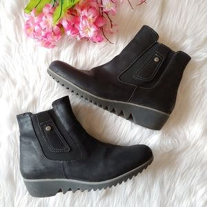 Wolky leather boots